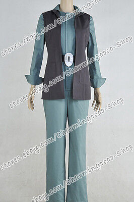 Star Wars: The Force Awakens Cosplay Princess Leia Costume Outfit Uniform Female - Female Star Wars Cosplay