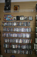 huge amount of older video games and their systems