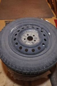 Snow Tires with Rims $500.00