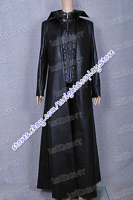 Underworld Cosplay Selene Costume Black Leather Long Trench Coat Only Halloween](Underworld Halloween Costumes)