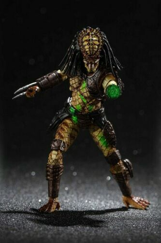 Hiya Toys Predator 2 Battle Damaged City Hunter Predator 1:18 Scale Figure New