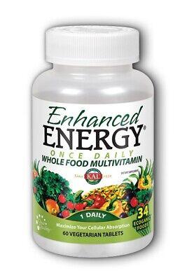 Enhanced Energy Once Daily Kal 60 Tabs Enhancer 60 Tabs