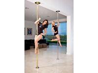 Brass Platinum Stages Extreme Super Dance Pole