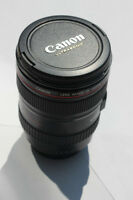 Canon 24 - 105mm + 50mm Negotiable
