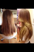 HIGH QUALITY HAIR EXTENSION SERVICES • AFFORDABLE •