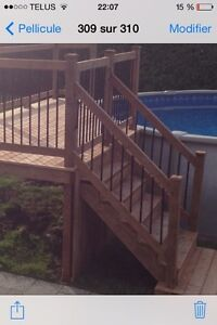 Terrasse deck sur mesure de qualité Rbq:8100-9656-21 West Island Greater Montréal image 6