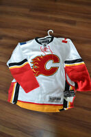 BRAND NEW..WITH TAGS..WHITE FLAMES JERSEY