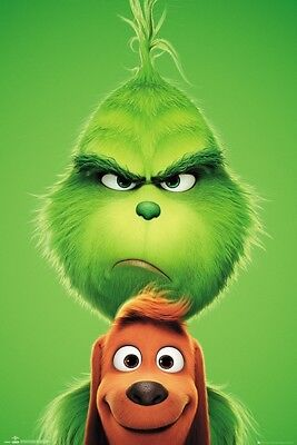 Grinch Poster (GRINCH MOVIE - MAX POSTER 24x36 - CHRISTMAS)