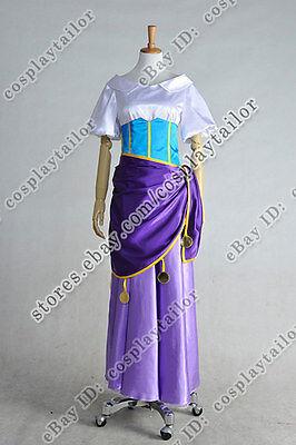 The Hunchback Of Notre Dame Cosplay Esmeralda Costume Great Dress Halloween New - Hunchback Halloween Costume