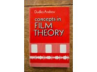 Concepts in Film Theory - Paperback by Dudley Andrew (Film Studies Book)