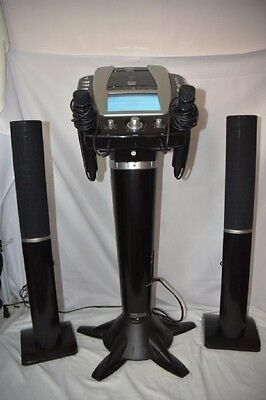 Untested The Singing Machine Karaoke Music System Karaoke Vision With Speakers