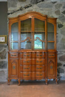 Antique French Diisplay Cabinet - free delivery