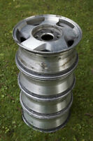 16 inch 6 bolt GM Chevy GMC Alloy Rims -Matching Set of Four!