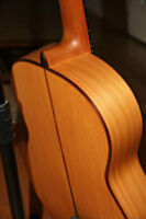 Classic Andalusian Flamenco guitar ( ALl SOLID WOOD )