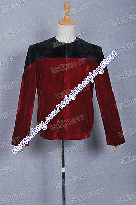 Star Trek Picard Cosplay Costume Jacket Coat Uniform High Quality Halloween New - High Quality Star Trek Uniform