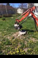 Stump grinding services insured free quotes