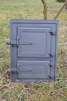 29x39 Cast iron fire door clay /bread oven pizza stove smoke house furnace DZ003