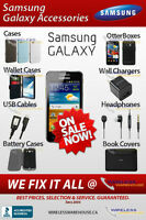 SAMSUNG GALAXY SERIES ACCESSORIES & PARTS IN STOCK - BEST PRICES