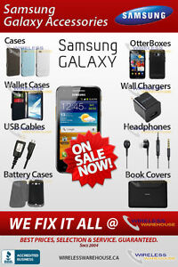 SAMSUNG GALAXY & NOTE SERIES ACCESSORIES & PARTS IN STOCK