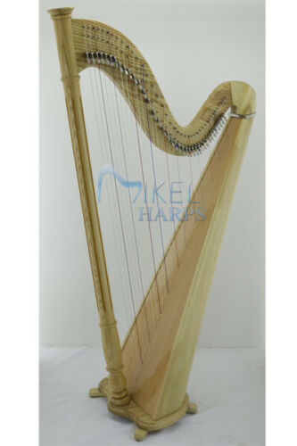 Tulip 40- Strings Lever Harp by Mikel Harps