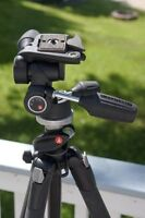 Manfrotto 190XPROB tripod with 804RC2 HEAD KIT