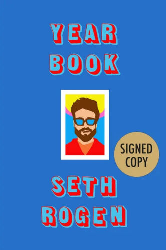 Autographed YEARBOOK by Seth Rogan SIGNED 1st Ed., Hardback PREORDERNEW