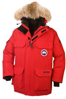 Canada Goose EXPEDITION PARKA Size Small Red $1k+ MSRP