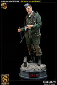 Sideshow German Paratrooper Premium Format Exclusive #18/100
