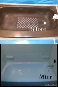 Bathtub & Tile Reglazing; Standard tub for $299