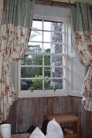 Flowery Curtains
