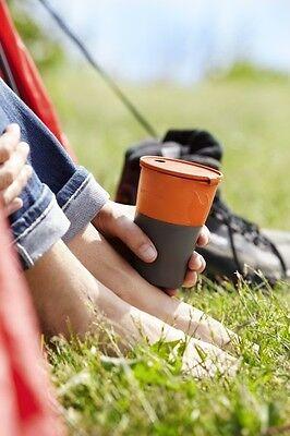 p-Cup(TM) - Faltbecher rund für Brotzeit & Camping/Reise (Light Up Becher)