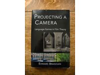 Projecting A Camera Paperback by Edward Branigan (Film Studies Book)