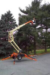 Towable Manlift (Boom Lift Man Lift) For Rent