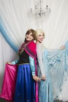 FROZEN PRINCESS PARTY - SINGING ELSA, ANNA, OLAF AND KRISTOFF