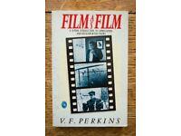 Film As Film: Understanding And Judging Movies by V. Perkins, Film Studies Book