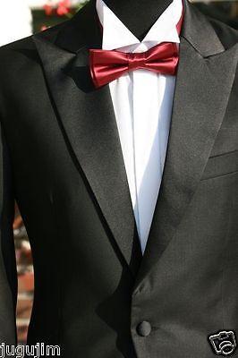 Cut Cutaway Hochzeitsanzug Herrenanzug schwarz 1-2 teilig