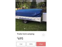 Conway cardale trailer tent