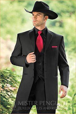 Boys Black Tuxedo Coat Jacket Closeouts Costume Western Wedding 3 4 5 7 8 10 12