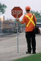 Experienced Flaggers needed for immediate employment