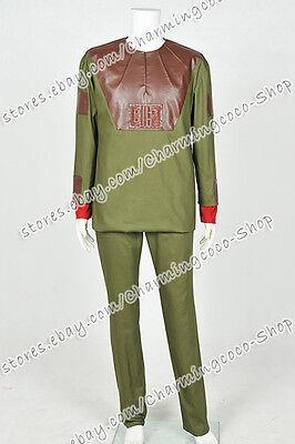 Planet der Affen 1968 Cornelius Cosplay Kostüm Uniform Halloween Jacke Hose (Planet Affen Halloween Kostüm)