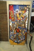 DATA EAST LAST ACTION HERO PINBALL PLAYFIELD & PARTS