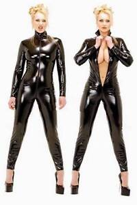 Catsuit faux-latex