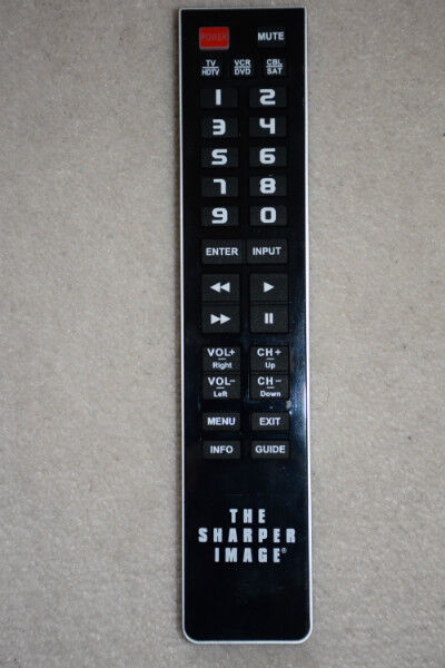 The Sharper Image Universal Remote Control Tsi Ur3 150 General