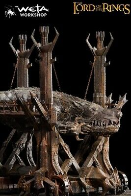 Weta Collectibles The Lord of the Rings Grond Prop Replica Statue New