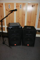 JBL Speakers..Amplifier..Peavey Mixer Pre Amp ++