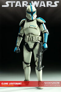 NEW Sideshow Collectibles Star Wars Clone Lieutenant Phase 1 EX Stirling Stirling Area Preview