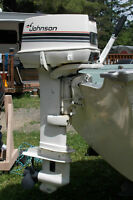 1988 25HP Johnson Outboard Motor - Long Shaft