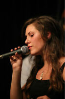 Young Female BIG BAND & JAZZ Vocalist for HIRE