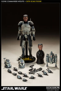 SideShow Exclusive Star Wars 1/6th Clone Commander Wolffe