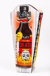 Blair's ULTRA DEATH SAUCE! BLAIRS HOT chilli BBQ PARTY SPICY Habanero Jolokia